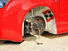 Free Wheel Assembly Royalty Free Stock Photos - 20732518