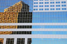 Free Window Reflection In Vancouver Stock Image - 20732571