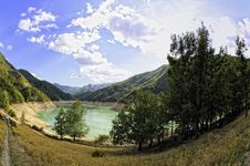 Free Lake Of Ridracoli Royalty Free Stock Image - 20732606