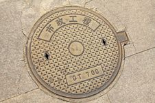 Free City Manhole Covers Stock Images - 20732964