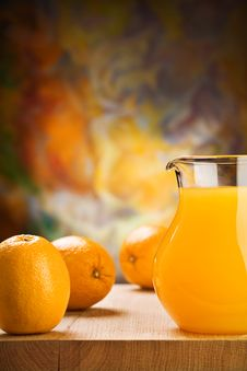 Free Orange Juice And Oranges Royalty Free Stock Image - 20734166
