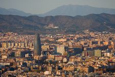 Free Panoramic View Of Barcelona Stock Photo - 20734600