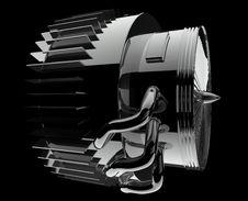 Turbojet Engine Stock Photos