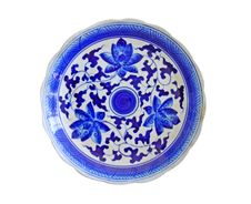 Free Porcelain Chinese Painted Isolated Stock Photography - 20735272