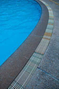 Free Swimming Pool Gutter Stock Image - 20735501