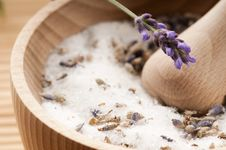 Free Lavender Sugar Royalty Free Stock Photography - 20735697