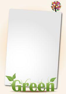 Free Sheet Green Stock Image - 20735751