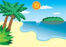 Free Sea Beach Stock Photography - 20737042