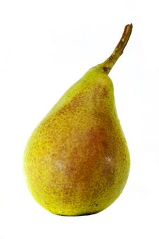 Free Close-up Of Pears On A White Background Royalty Free Stock Images - 20737619
