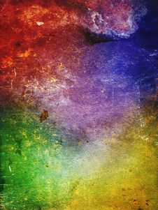 Free Colorful Ancient Wall Royalty Free Stock Photos - 20738038