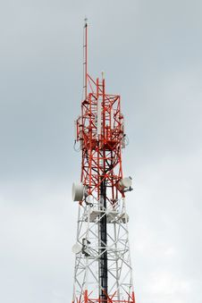 Free The Mobile Antenna Royalty Free Stock Photos - 20738378