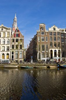 Free Classical Amsterdam View. Royalty Free Stock Photos - 20738788