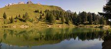 Free Alpine Lake Royalty Free Stock Photo - 20738975