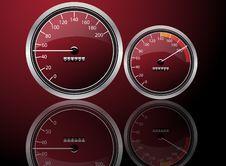 Free Speedometer Royalty Free Stock Photo - 20739445