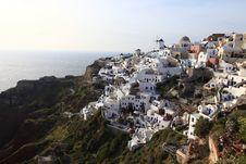 Free Oia Village, Santorini, Greece Royalty Free Stock Images - 20739479
