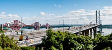 Free The Two Forth Bridges Royalty Free Stock Photo - 20739685