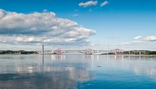 Free The Two Forth Bridges Stock Photography - 20739692
