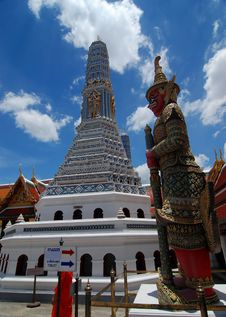 Free Wat Phra Kaew. Stock Photo - 20739990