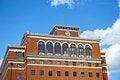 Free Brick Building Royalty Free Stock Photo - 20744025