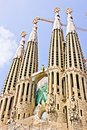 Free Sagrada Familia Royalty Free Stock Image - 20744436
