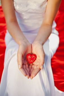 I Ll Give You My Heart Stock Photography