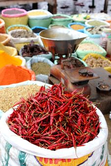 Free Spice Market Royalty Free Stock Images - 20740779