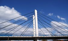 Free Pylon Of Suspension Bridge Stock Photography - 20742232