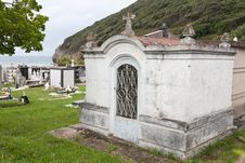 Cemetery By The Sea Stock Photography