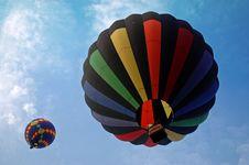 Free Hot Air Balloon I Royalty Free Stock Image - 20743056