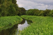 Free Unused Canal In Scotland. Stock Photo - 20743140