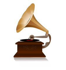 Free Retro Gramophone Stock Images - 20743214