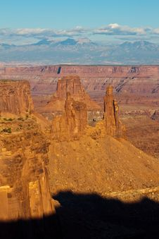 Free Rock Formations In Canyonlands, UT Royalty Free Stock Photography - 20743297