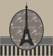 Free Background With Tour Eiffel Stock Photos - 20743663