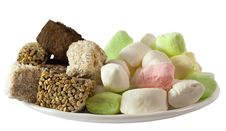 Free Assorted Turkish Delight Lokum And Parvarda Stock Photography - 20743792