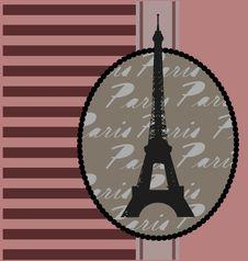 Free Background With Tour Eiffel Stock Photo - 20744160