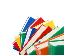 Free Pile Of Books Isolated On A White Background Stock Photography - 20744222