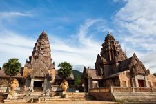 Castle Rock In Thailand Stock Photography