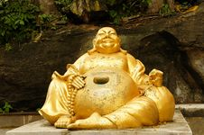 Happy Buddha Stock Photos