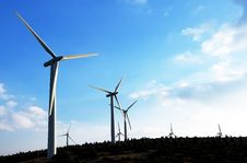 Free Wind Farm Stock Photography - 20745192