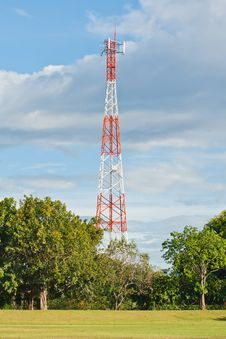 Free Communication Tower Royalty Free Stock Photography - 20745237