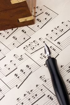 Free Musical Notes Stock Images - 20745284