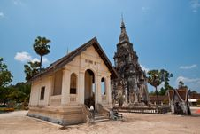 Free Ancient Temple In Lao,Pra Thart Ing Hung Royalty Free Stock Photos - 20745458