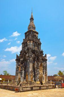 Free Pra Thart Ing Hung,Seno,Lao PDR. Royalty Free Stock Photo - 20745505