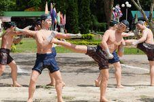Free Model Of Thai Boxing (Muay Thai) Stock Image - 20746421