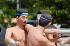Free Model Of Thai Boxing (Muay Thai) Stock Photo - 20746470