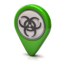 Free Biohazard Icon Royalty Free Stock Photos - 20746538