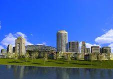 Free Modern City Stock Photo - 20746600