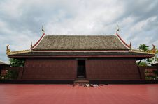 Free Thai Wood Temple Stock Images - 20747034