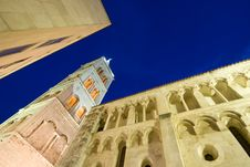 Free St.Anastasia Church In Zadar At Dusk Stock Photos - 20747123