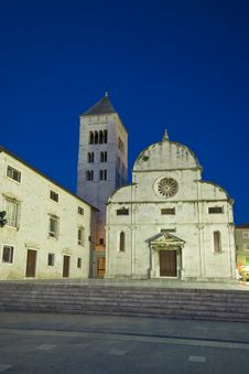Free St.Mary`s Church And Convict At Dusk Royalty Free Stock Image - 20747286
